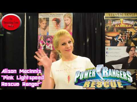Its Recording Time: Interview With Alison MacInnis AKA Pink LightSpeed Rescue Ranger