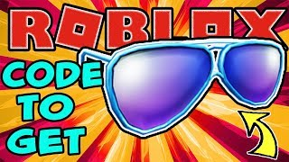 [PROMO-CODE] WIE DIE SUPER SOCIAL SHADES IN ROBLOX - 1 Million Twitter Follower FREE ITEM