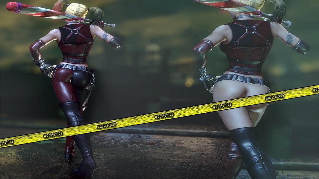Harley Quinn Vestida Y Desnuda Free Roam Gameplay Comparison