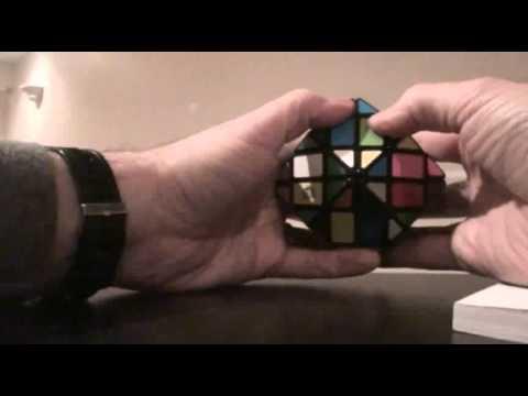 Lanlan 4 layer rhombic dodecahedron tutorial part 1