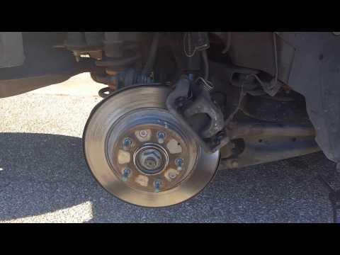 How to replace the brake hardware on a lincoln mkz zephyr and ford fusion