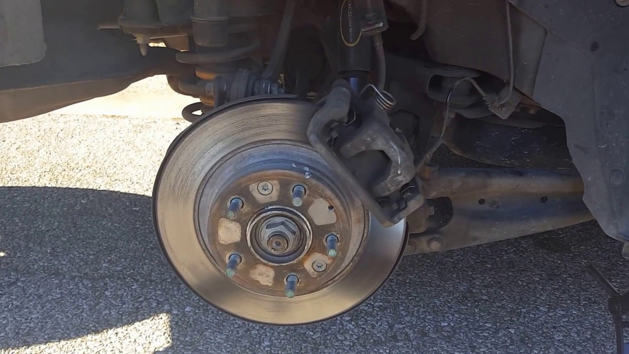 How To Replace The Brake Hardware On A Lincoln Mkz Zephyr