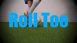 roll toe static ball control drills soccer football coerver training for u6 u7