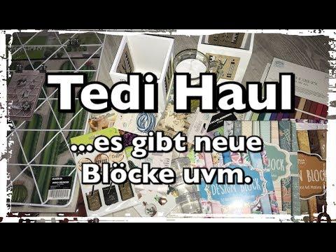 XL Tedi Haul (deutsch) neue Blöcke, Sticker-sooo genial uvm., Scrapbook, Die