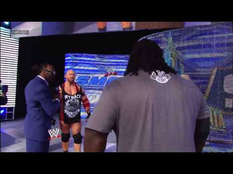 Mark Henry and Ryback both shatter a long-standing bench press record: SmackDown, March 29, 2013