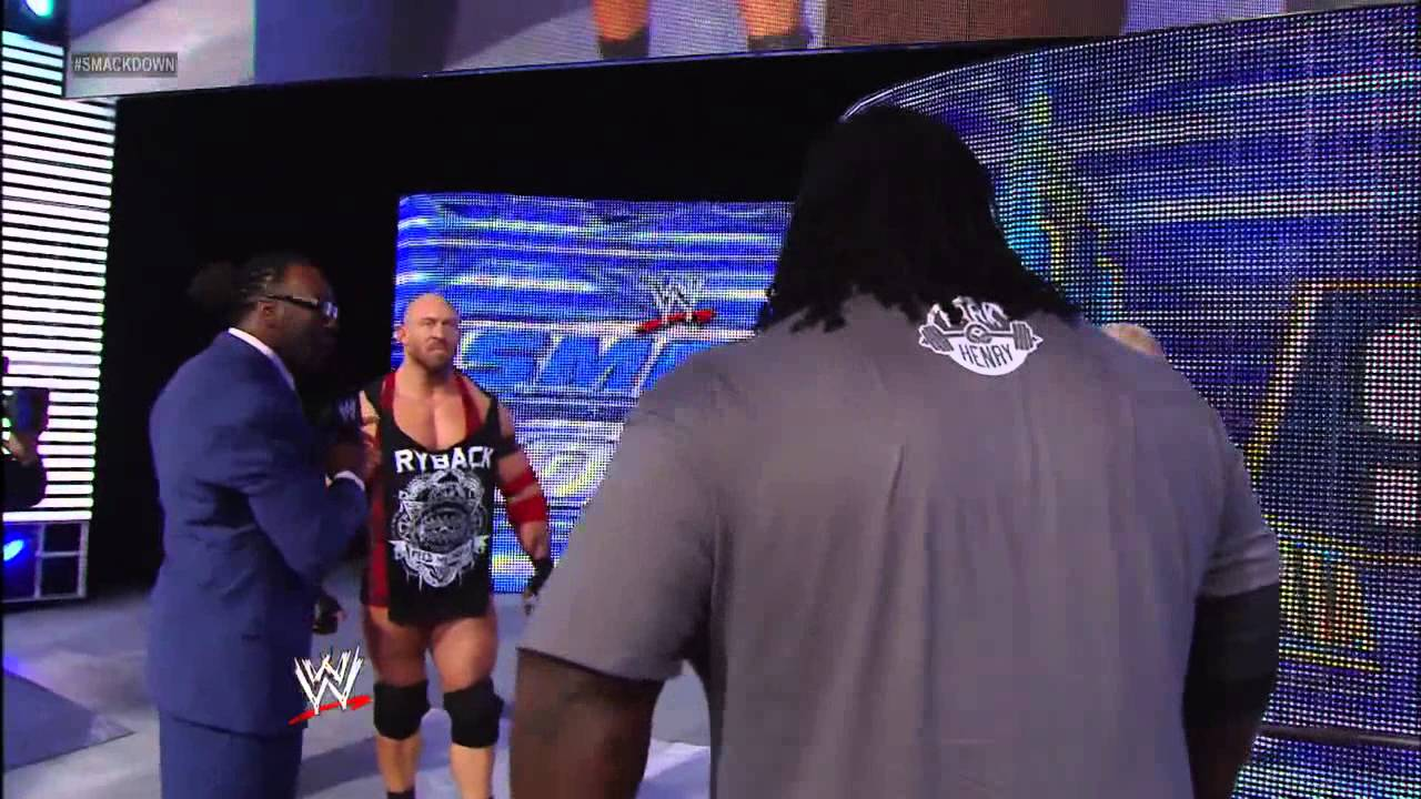 Mark Henry And Ryback Both Shatter A Long Standing Bench Press Record Smackdown March 29 2013 Youtube