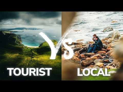 Tourist VS Local Photographer | How 2 photographers shoot the same location