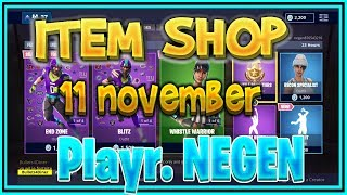 Fortnite ITEM SHOP nederlands (NL) 11 November (NFL SKINS! NIEUWE EMOTE) - Playr NEGEN