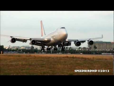 Yangtze River Express Cargo Boeing 747-409(F)(SCD) [B-2436] Landing in Los Angeles