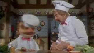 the muppet show swedish chef and uncle preparing turkey