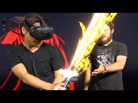 VR In Real Life - Mixed Reality Tiltbrush