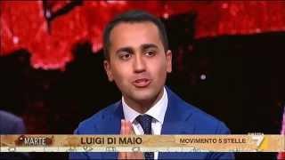 L'intervista a Luigi Di Maio (M5S)