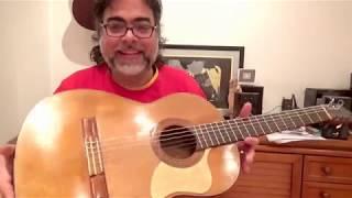 Eladio Fernandez (brother of Gerundino) collection guitar restored by David Martinez (Cordoba)
