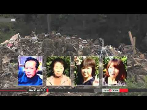 Search continues over Hiroshima mudslides