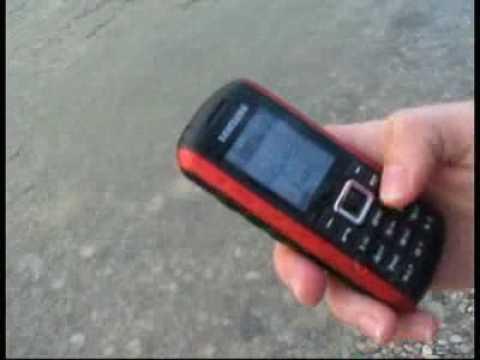 Samsung B2100 - in den Fluss gefallen