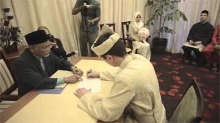 Aishah & Ben's Akad nikah - ROM Singapore 13.02.2013