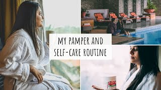 My Pamper and Self-Care Routine ft. Mama Earth's Argan Hair Mask | Pamper Routine - Indian