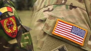 U.S. troops on deployment in Romania