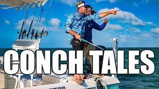 Key West Florida Flats Fishing for Lemon Sharks and Barracuda