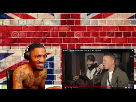Did he diss Bugzy? RED BULL [GRIME-A-SIDE] MANCHESTER VS NOTTINGHAM | REACTION