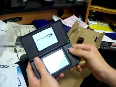 Nintendo Ds Lite Unboxing Cobalt/Black