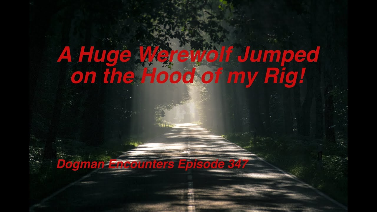 A Huge Werewolf Jumped onto the Hood of my Rig! (Dogman Encounters Episode 347)