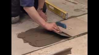 22 Укладка керамической плитки на пол
