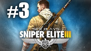 "Sniper Elite 3 Part 3 w/ SICK ""Zig Zag"" SVT-40 Trench Gun"