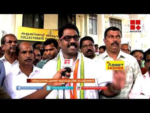 UDF ribel in Thiruvananthapuram corporation