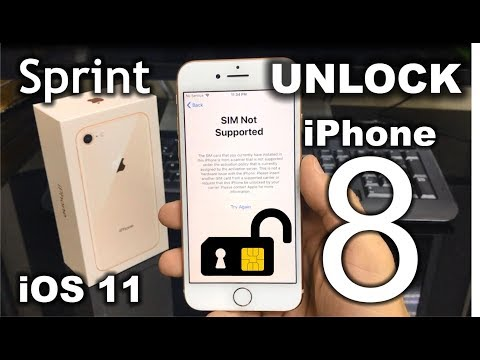 How To Unlock iPhone 8 from Sprint to any carrier