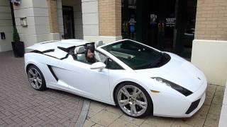 Lamborghini Gallardo Spyder lowering power top