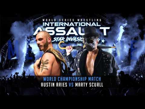 FULL MATCH - Austin Aries vs Marty Scurll: International Assault 2K18