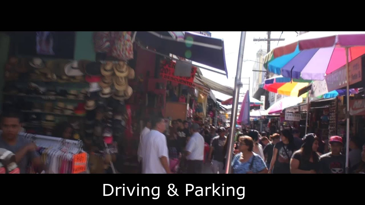 How to Shop at the L.A. Fashion District - YouTube