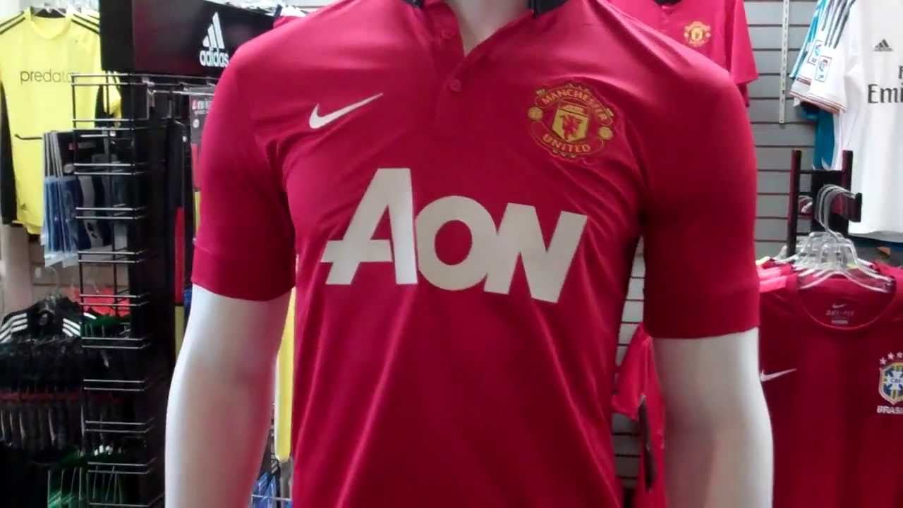 on sale 8106c 570a9 Manchester United 2013-2014 Home Jersey