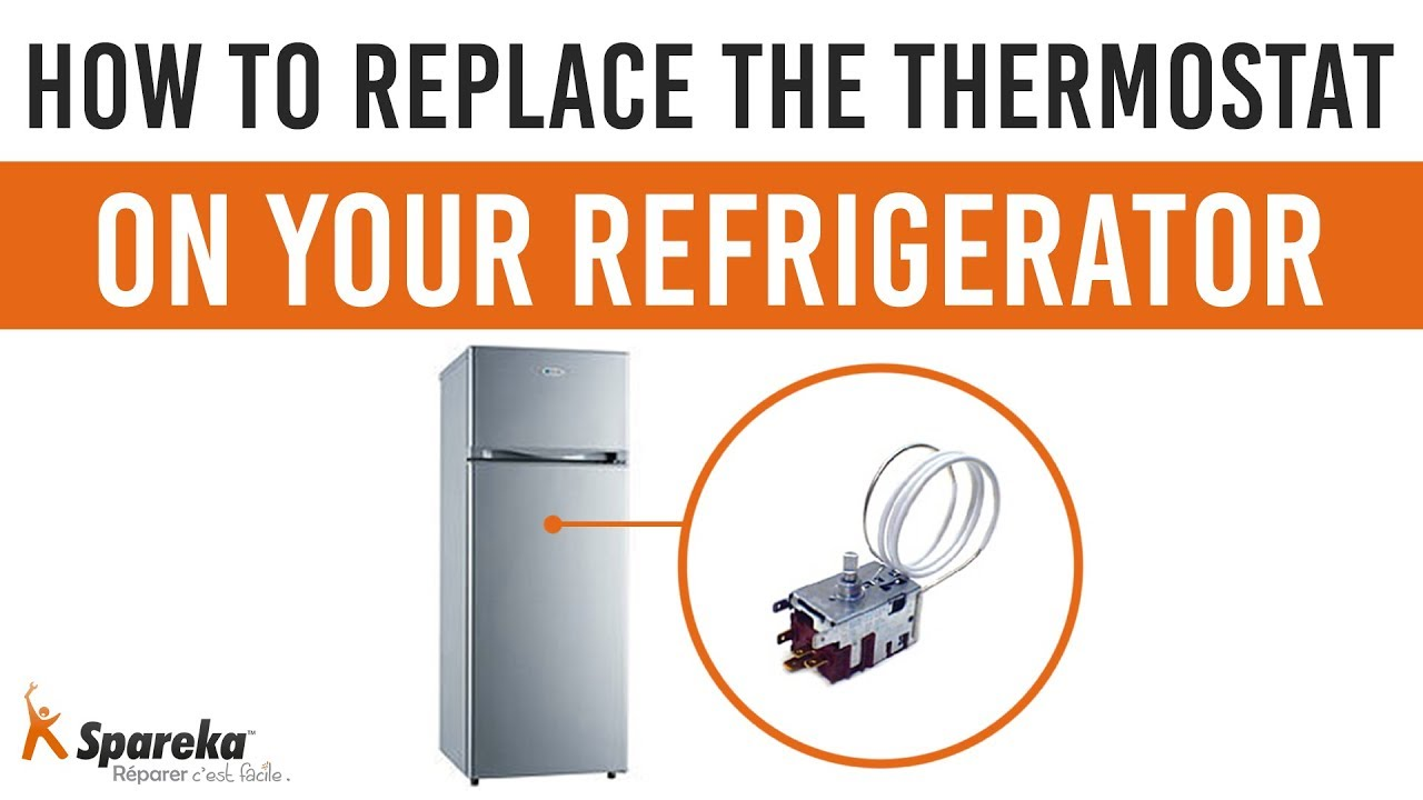 How To Replace The Thermostat On Your Refrigerator