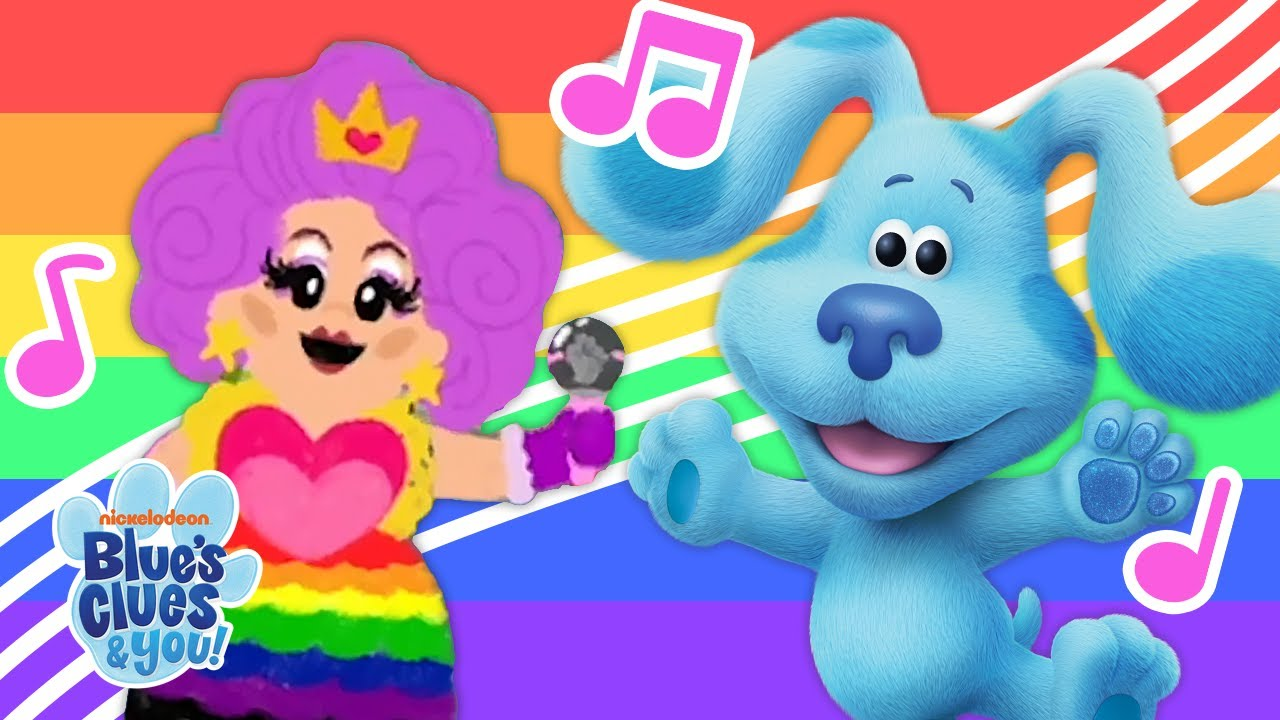 Blue's Clues Shows That Pride is for All Ages With Their Pride Parade Song