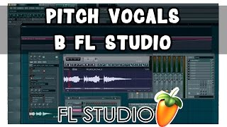игра вокалом в FL Studio. Pitcher и MIDI