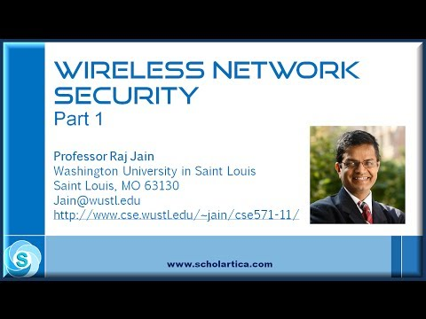 Wireless Network Security: Part 1