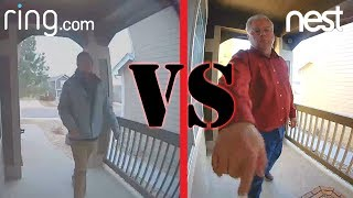 Ring 2 vs Nest Hello Video Doorbell Comparison