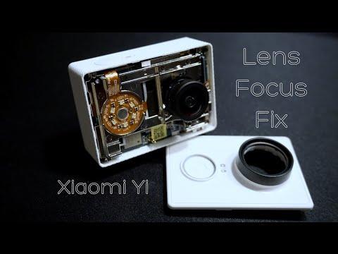 Xiaomi Yi Lens Focus Problem Fix
