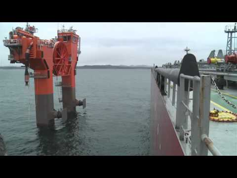 Customer Sea Trial - Undocking and Docking Operations January 26th