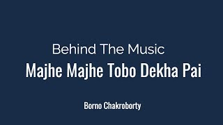 Majhe Majhe Tobo Dekha Pai by Borno Chakroborty | Rabindra Sangeet | Behind the Music