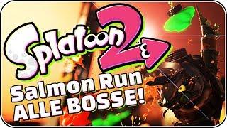 Alle Bosse im Salmon Run! • Splatoon 2 Salmon Run Deutsch
