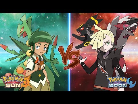 Pokemon Sun and Moon: Gladion Vs Sawyer (Pokemon Team Prediction)