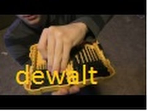 DeWalt drill bit review