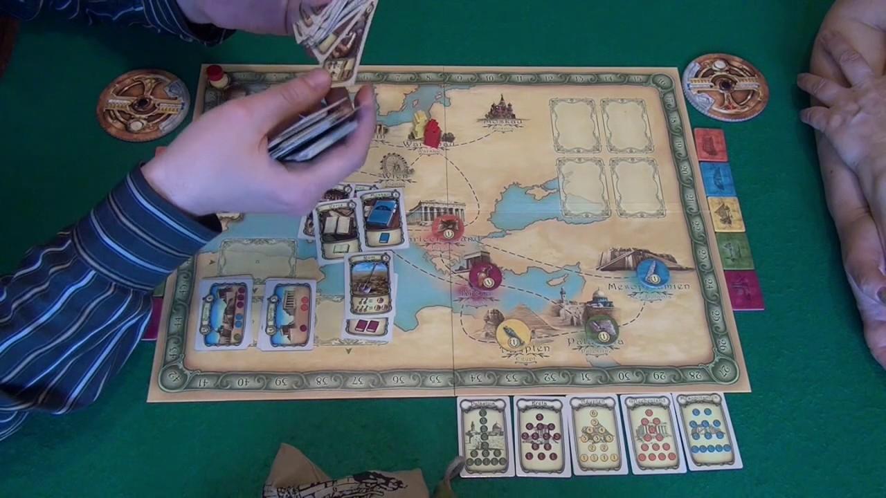 Camel Up - играем в настольную игру, board game - YouTube