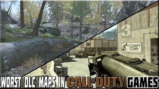 WORST DLC MAPS IN CALL OF DUTY GAMES!