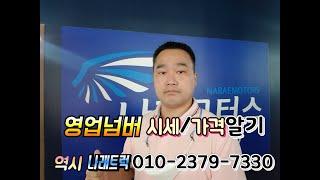 영업넘버 가격/시세알기 ^^ 건강한 추석명절 인사드립니…
