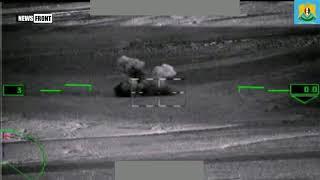 Вертолеты ВКС ударили по технике террористов в Сирии
