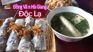 Bánh cuốn được làm độc lạ hơn 50 năm trên phố cổ Đồng Văn Hà Giang #hnp